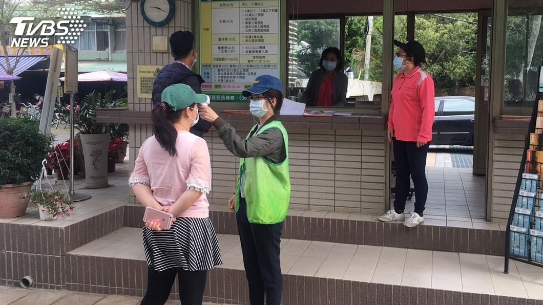 圖/台南市政府提供 台南3景點列入國家級警報 市府加強消毒