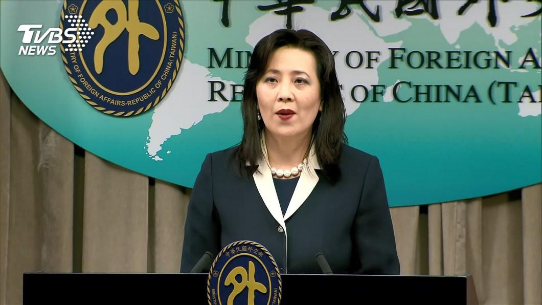 外交部發言人歐江安。(圖/TVBS) 陸指「人肉地毯」揭發者收台灣錢 外交部駁:公然說謊