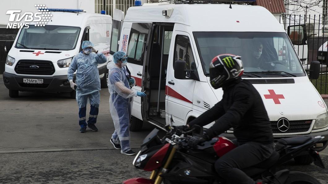 圖/達志影像美聯社 莫斯科防疫政策異動 患肺炎視為潛在染疫者