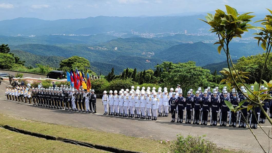 圖/台北市議員游淑慧提供 一級上將之禮送別 郝柏村安葬國軍公墓特勳區