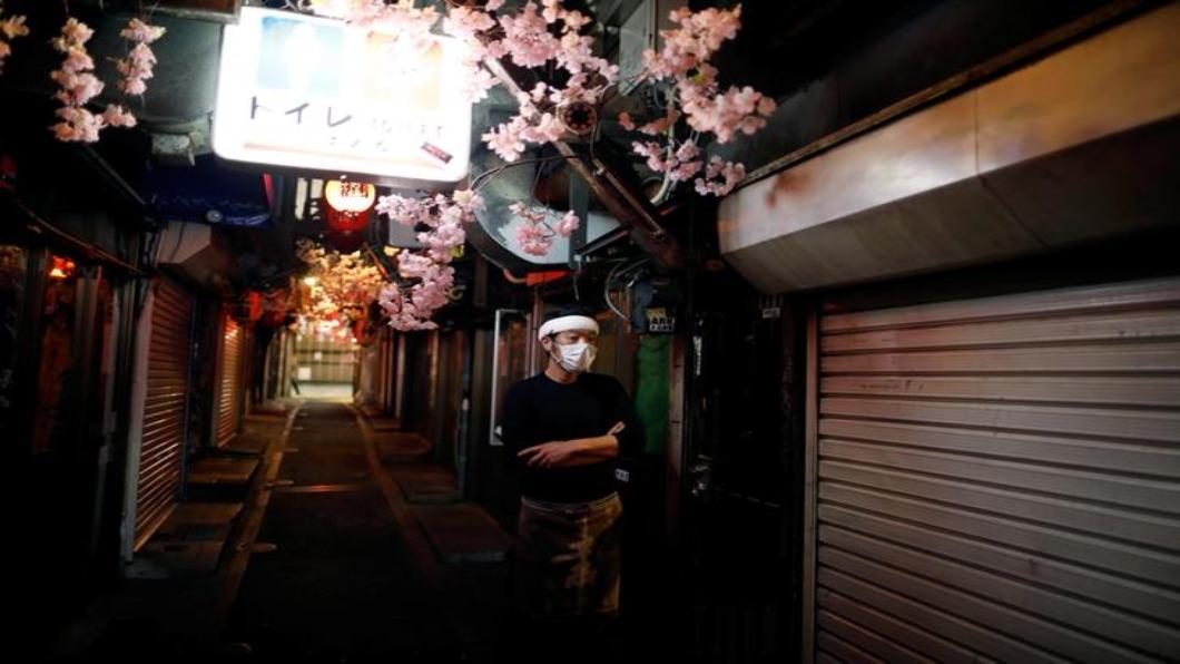 圖/達志影像路透 東京休業請求定案 聲色場所歇業防群聚