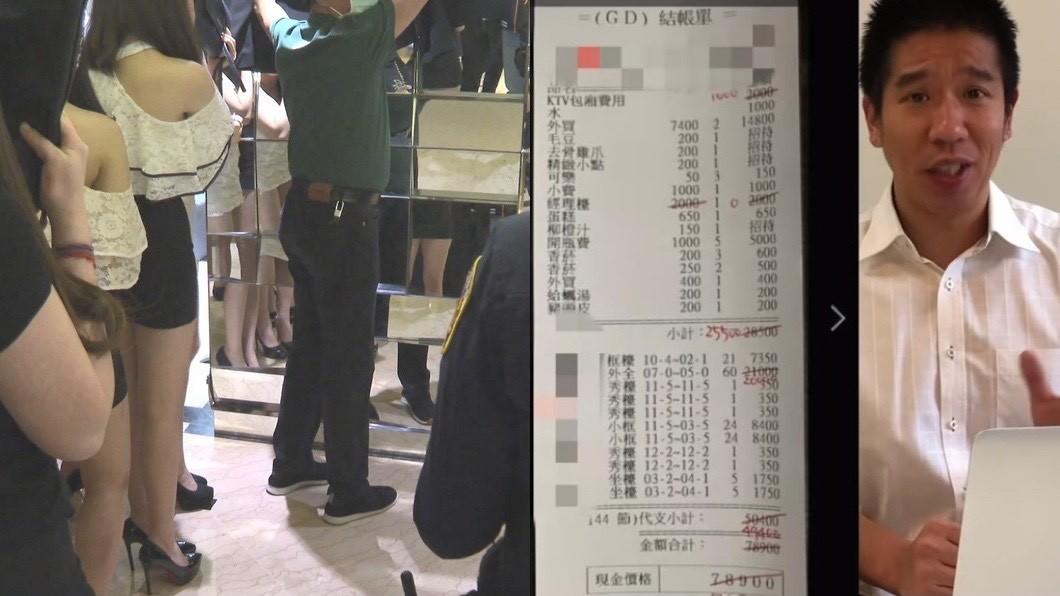 酒店示意圖,與本文無關,林裕豐發影片解釋酒店消費術語。(圖/TVBS資料照、翻攝自YouTube林裕豐嘴起來頻道) 6分鐘揭密「酒店帳單」!老司機曝內幕:不畫單是盤子