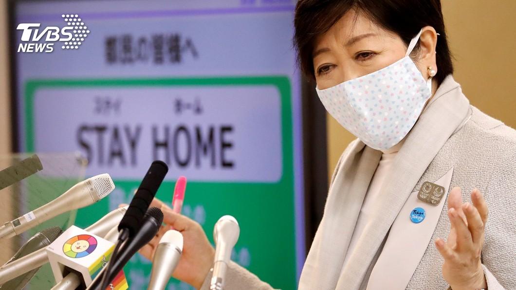 圖/路透社 日本緊急狀態第4天 東京189確診創新高