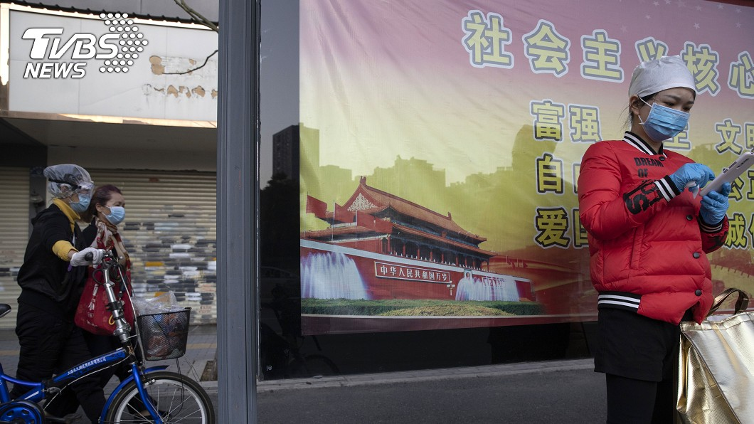圖/達志影像美聯社 武漢篩查復工人員:無症狀感染者占0.08%