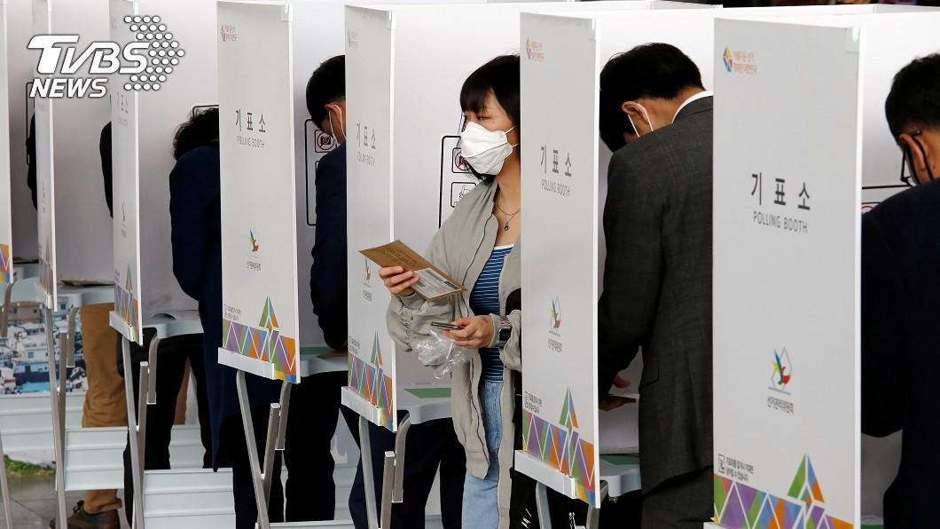 圖/達志影像路透社 武漢肺炎韓國確診新增25例 國會選舉影響受矚