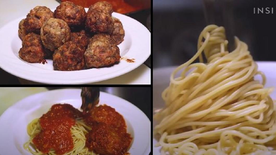 圖/翻攝自Food Insider YouTube 全美最老義式餐廳 招牌肉丸飄香120年