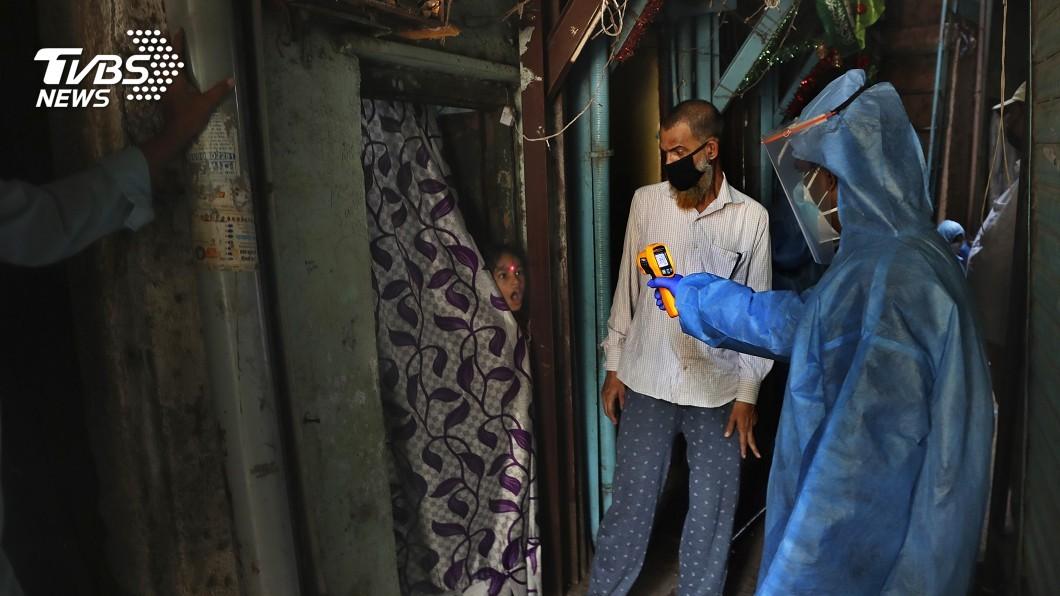 圖/達志影像美聯社 印度擬延長封鎖令 貧民窟居民:沒病死就先餓死了