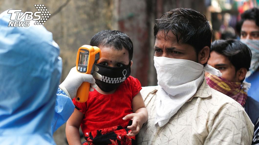 圖/達志影像路透社 武漢肺炎印度確診破萬例 全國封鎖延至5月初
