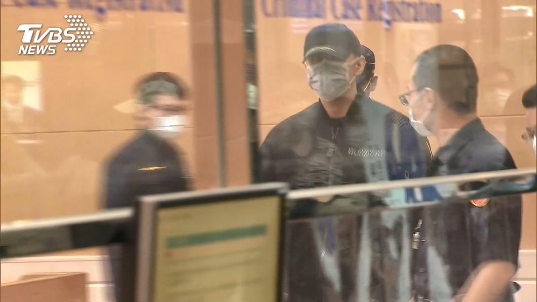 藝人祝釩剛持大麻遭逮。(圖/TVBS) 「母重病勿牢刑」祝釩剛3度涉毒 北檢:有條件緩起訴