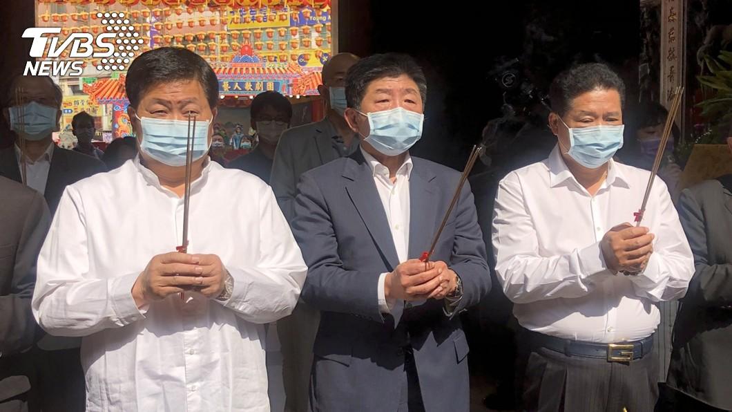 圖/中央社 媽祖遶境進香何時辦? 陳時中:有機會要視疫情變化