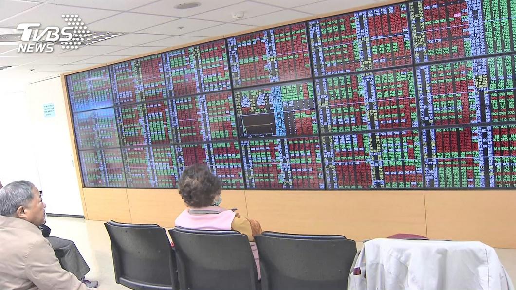 (圖/TVBS資料畫面) 獲利賣壓出籠 台股盤中16000點關卡沒站穩