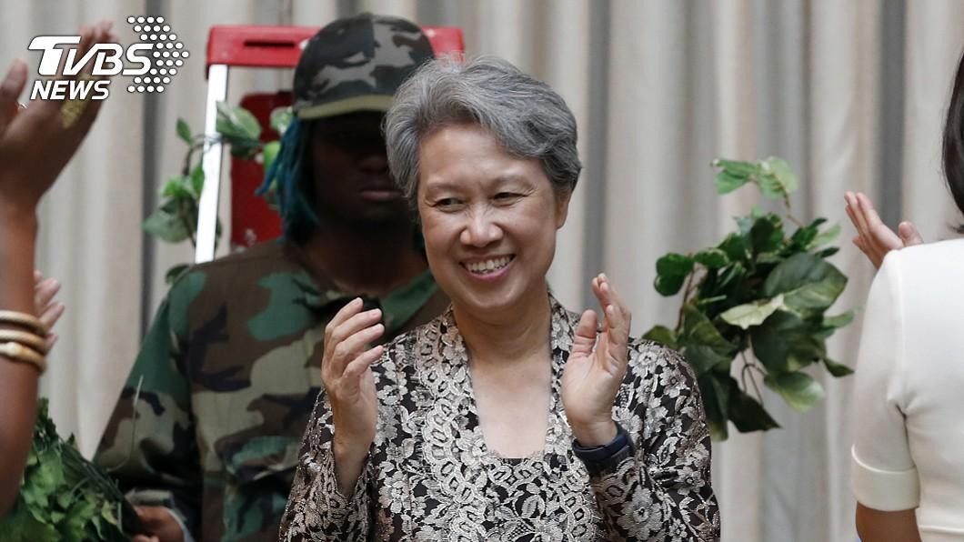 圖/達志影像美聯社 臉書PO文影片惹議 何晶:我欠台灣總統一個道歉