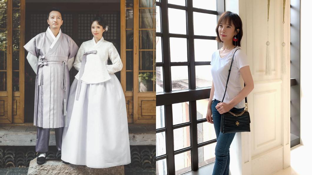 天心2016年嫁給韓籍攝影師老公金英敏。(圖/翻攝自天心Facebook) 當韓國媳3年⋯天心揭韓國人地雷:真的會翻臉