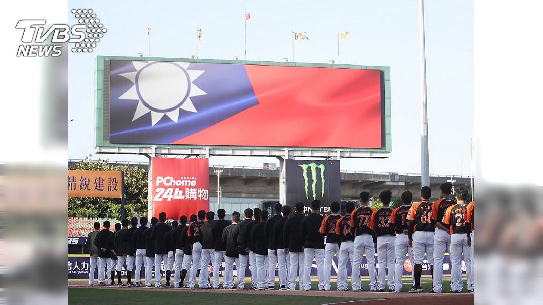 圖/中央社 中職全球破百萬觀看 英文講評:把台灣推廣出去