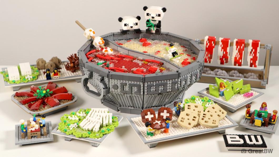 樂高(LEGO)深獲全球各年齡層的玩家喜愛。(圖/翻攝自LEGO Facebook) 樂高分享「超經典台灣味」 全球網友狂喊:超餓!