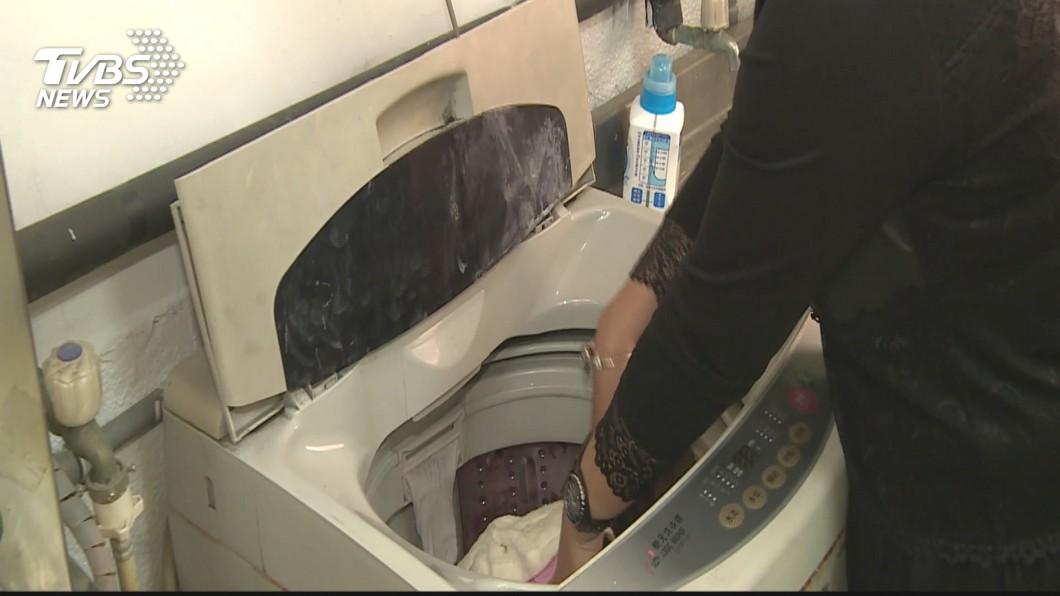 半夜洗衣服常會擾人清夢。(示意圖/TVBS) 扯!半夜洗衣機運轉 夫妻驚見陌生人「帶一堆衣服來洗」