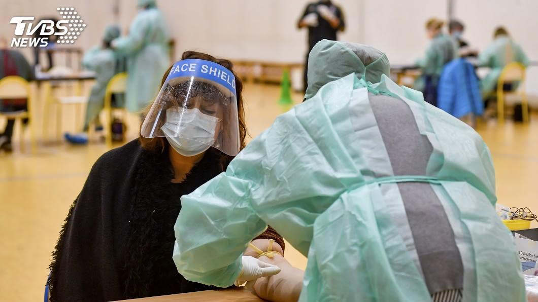 圖/達志影像美聯社 義大利疫情顯露樂觀跡象 新增確診病例銳減