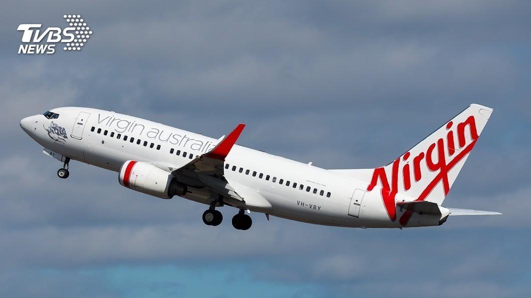 示意圖/TVBS 快訊/裁員仍撐不住! 維珍澳洲航空宣布「破產管理」