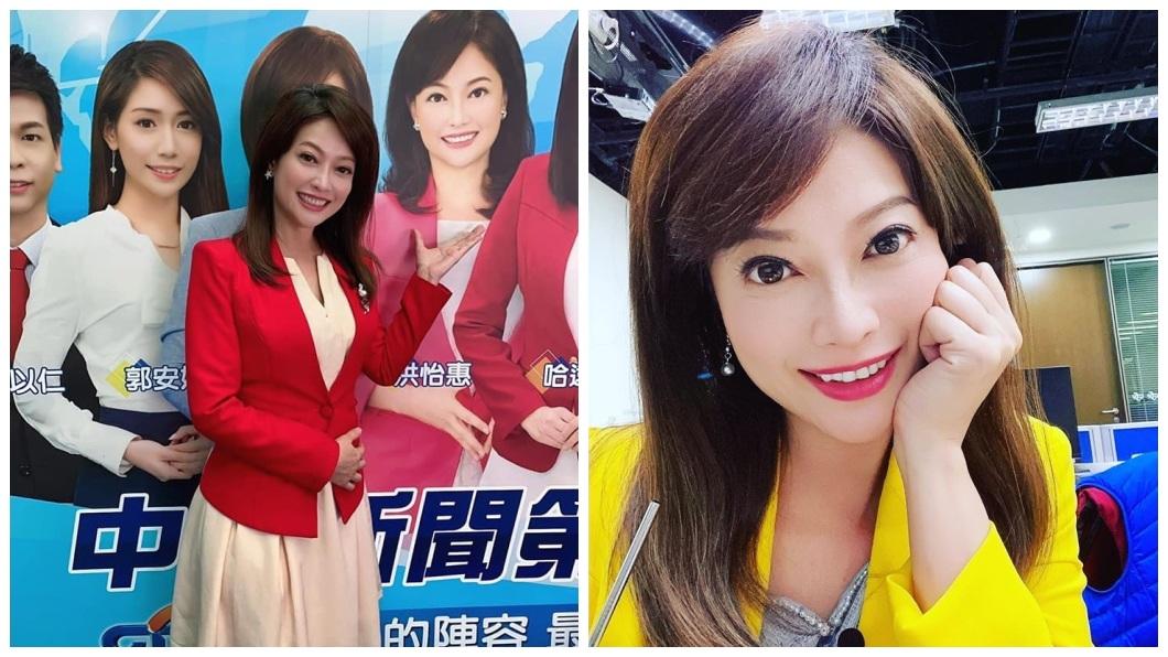 中視美女資深主播洪怡惠,日前也在臉書宣布要離開待了18年的老東家。(圖/翻攝自洪怡惠臉書) 收視飆升才歡慶 資深美女主播突告別:美好的一仗