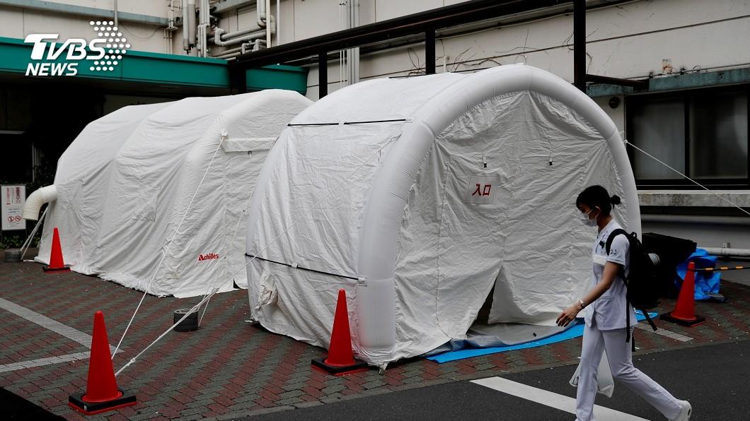 圖/路透社 確診者橫屍東京街頭 吹哨人:明年奧運恐難辦