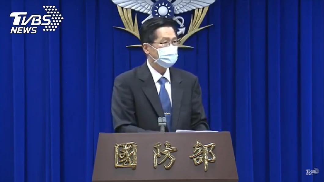 國防部長嚴德發。(圖/TVBS) 美大選傳參謀總長坐鎮衡指所 嚴德發:按程序進行