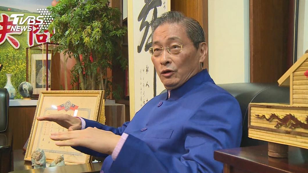 圖/TVBS 「白狼」張安樂赴中山大學演講 校方:事前不知