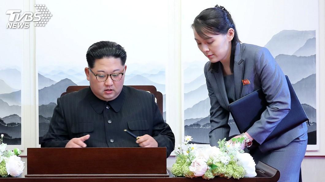 金正恩的胞妹金與正,被視為北韓當局的緊急接班人。(圖/翻攝自達志影像美聯社) 金正恩身體差…北韓去年底就準備 金與正掌權最高領導人