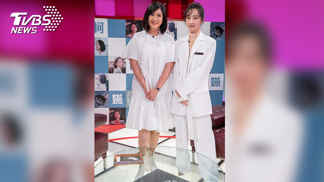 《TVBS看板人物》主持人方念華專訪柯佳嬿。圖/TVBS 守初心的力量   柯佳嬿:不要想太多