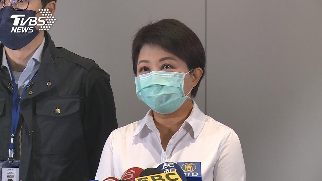 台中市長盧秀燕。(圖/TVBS資料畫面) 韓國瑜遭罷免 盧秀燕:尊重民意結果