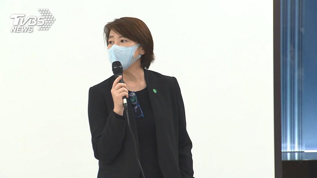 台北市副市長黃珊珊。(圖/TVBS資料畫面) 黃珊珊布局北市 民眾黨基隆、新竹提名機率高