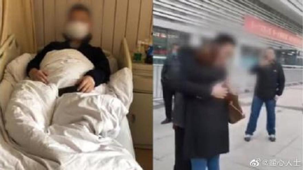 河南1名婦人要捐肝救罹患肝癌的兒子,沒想到檢查一驗並非親兒。(圖/翻攝自微博) 28歲兒罹肝癌…52歲慈母想捐肝救兒 一驗不是親生的