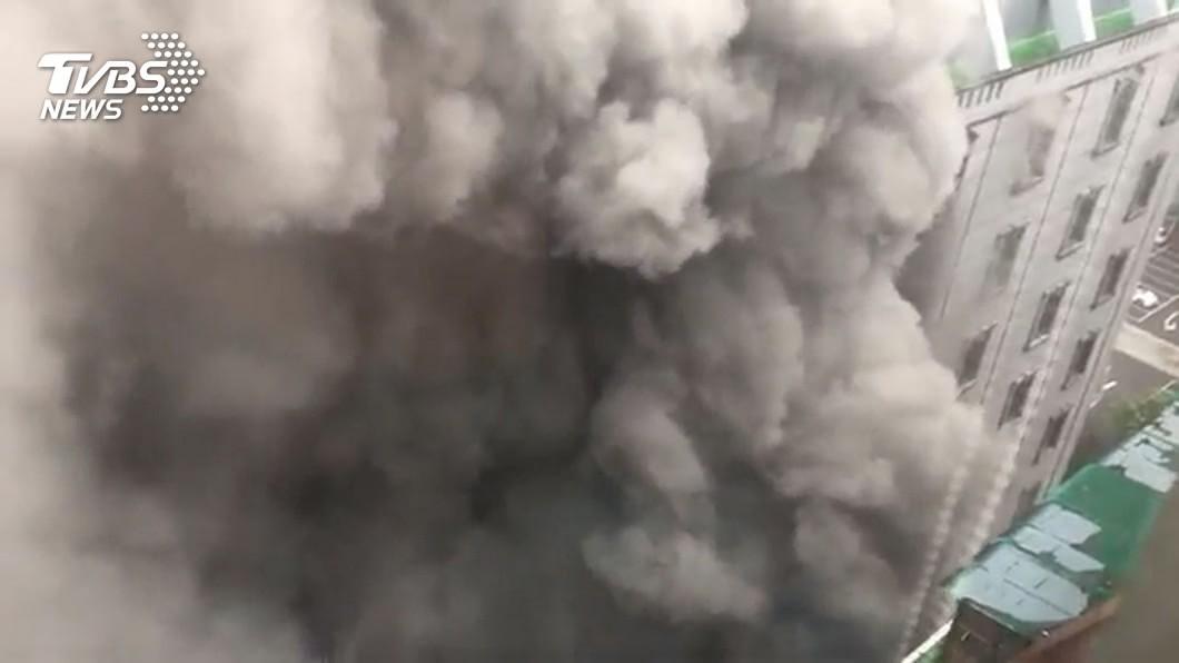 圖/TVBS資料畫面 錢櫃大火釀6死 北市消副局長到承辦人皆被究責