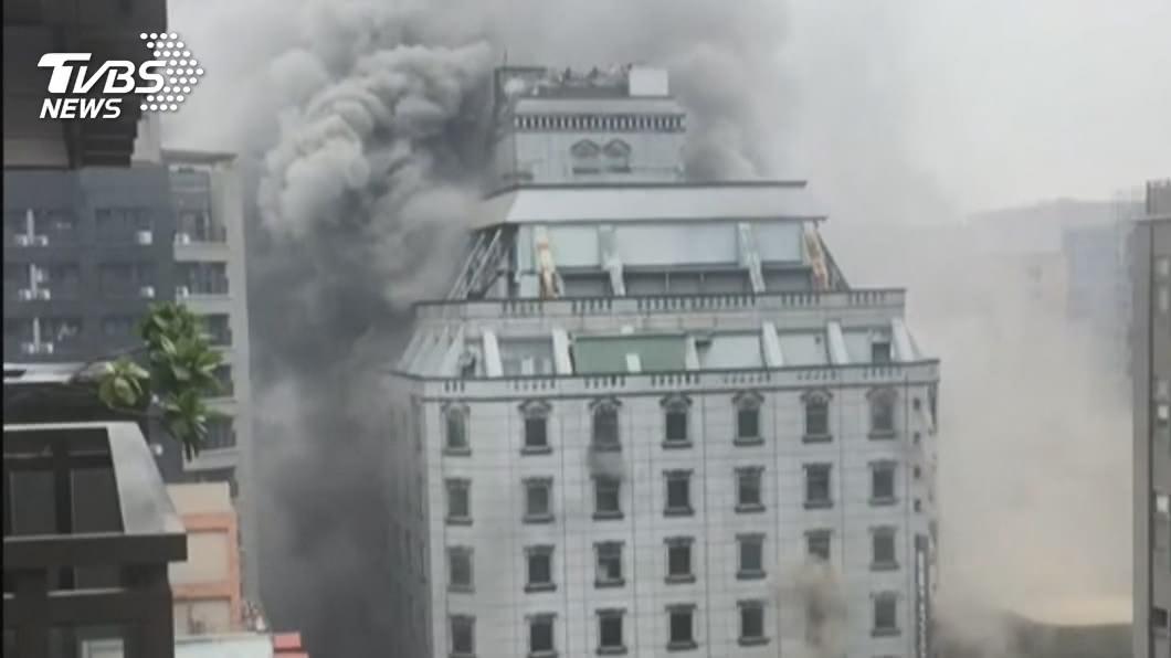 (圖/TVBS資料畫面) 錢櫃大火案釀6死 練台生等7人過失致死罪起訴