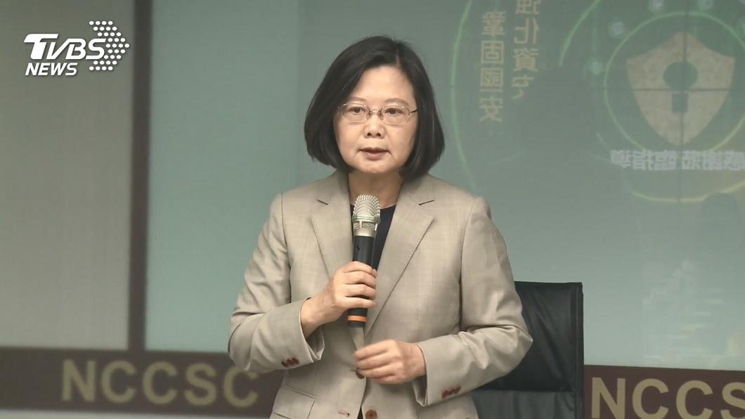 (圖/TVBS資料畫面) TVBS民調/520連任就職 蔡英文滿意度逾6成