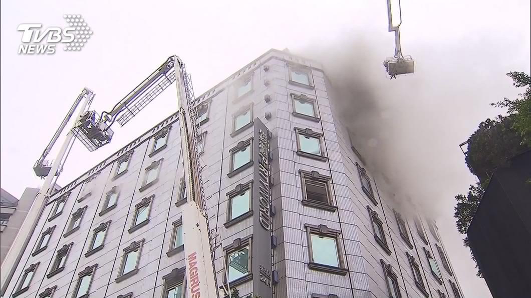 圖/TVBS資料畫面 錢櫃火警釀死傷 北市消副局長:尊重市府調查