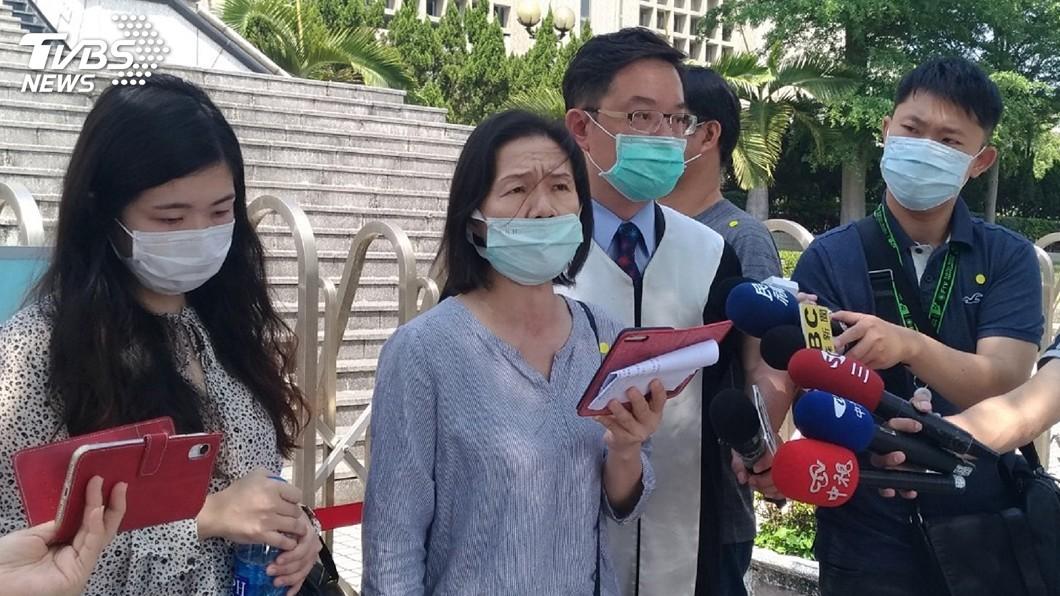 圖/中央社 男子殺牙醫二審仍逃死刑 遺孀:非常不能接受