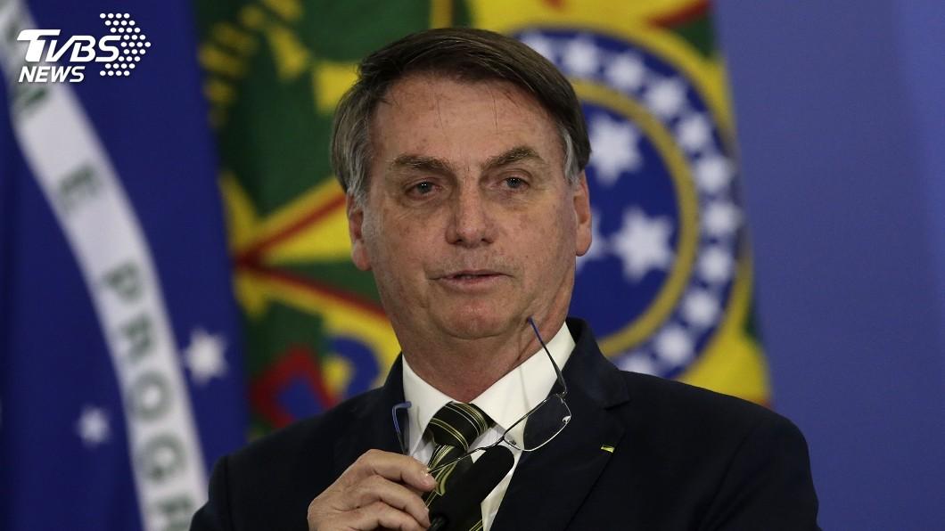 圖/達志影像美聯社 武漢肺炎死亡數超越中國 巴西總統:那又怎麼樣?