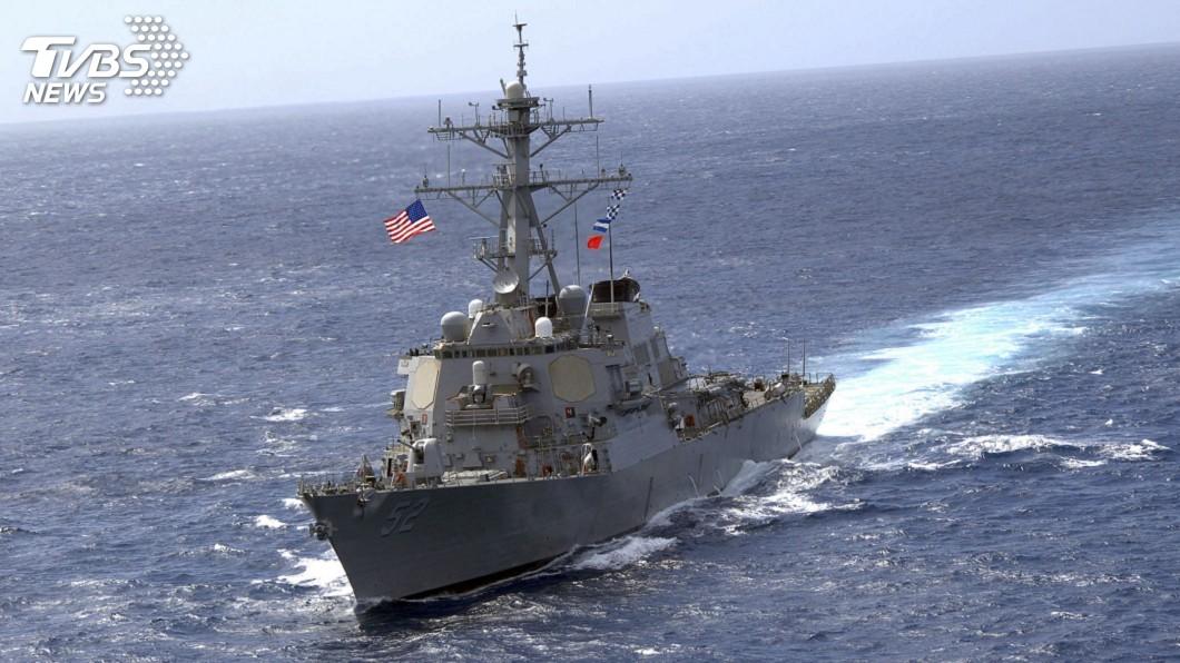 圖/達志影像路透社 美艦通過中國主權聲索南海海域 維護自由航行權
