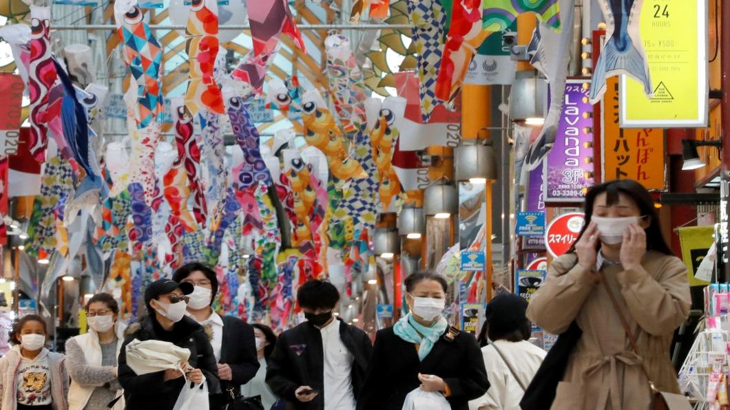 圖/達志影像路透 日本黃金周假期開跑 一線都市冷清如空城