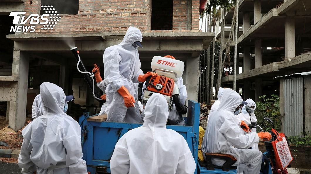 圖/路透社 人口13億死亡僅千人 卡介苗助印度防疫