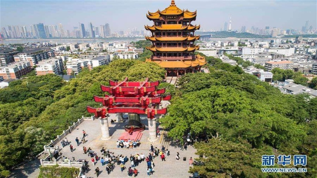 圖/翻攝自 新華網 中國大陸五一連假啟動 估1.17億人出遊