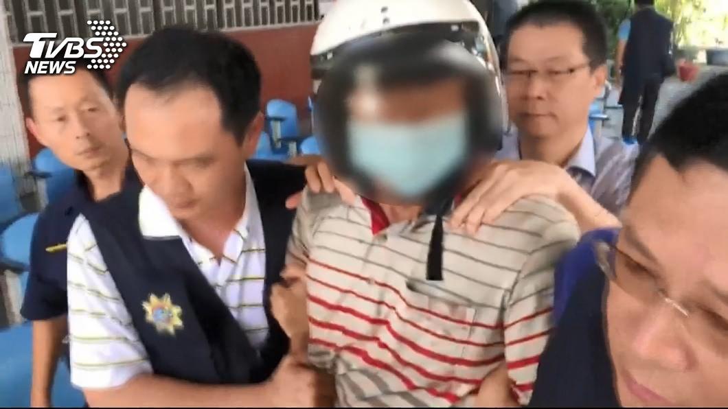 圖/TVBS資料畫面 狠殺鐵路警!兇手辯「當時中邪了」:要搞就把事情搞大