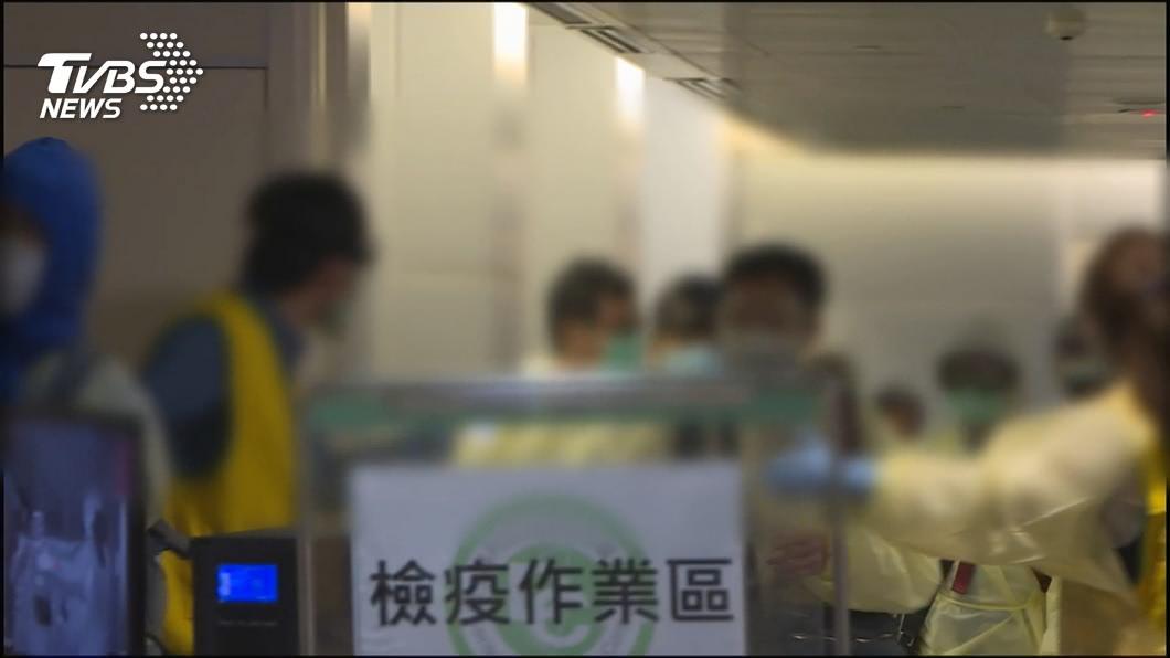 示意圖,與本事件人物無關。(圖/TVBS資料畫面) 「日女確診傷台灣防疫信用」 醫批:檢測太保守如玩火