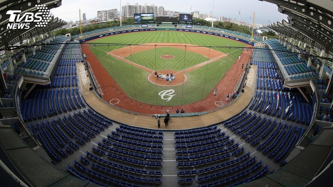 圖/中央社 桃猿公布購票辦法 21日起開放2千名觀眾入場