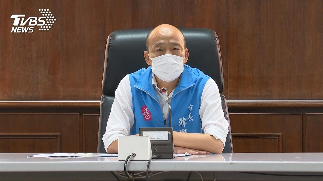 高雄市長韓國瑜。(圖/TVBS資料畫面) 高鐵推大學生優惠 他狠批:追殺韓國瑜