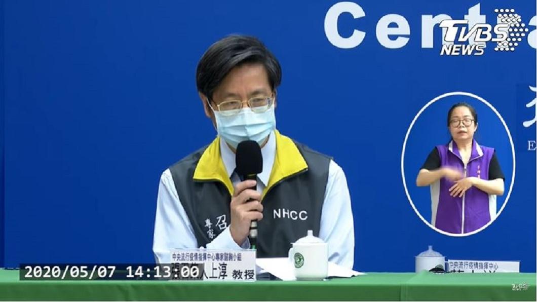 圖/TVBS 女卡達確診康復1個月又復陽 張上淳曝關鍵原因