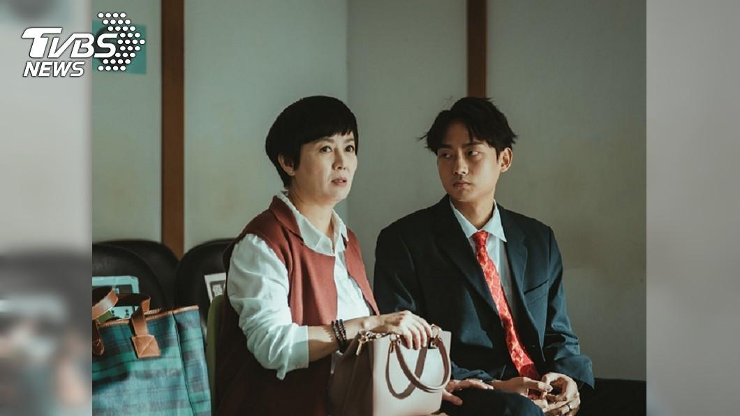 圖/中央社 台語劇若是一個人 苗可麗、林鶴軒扮母子秒入戲
