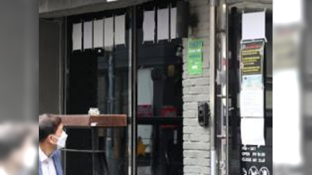 圖/翻攝自亚洲经济微博 梨泰院群聚已41中鏢 首爾夜店全面關閉