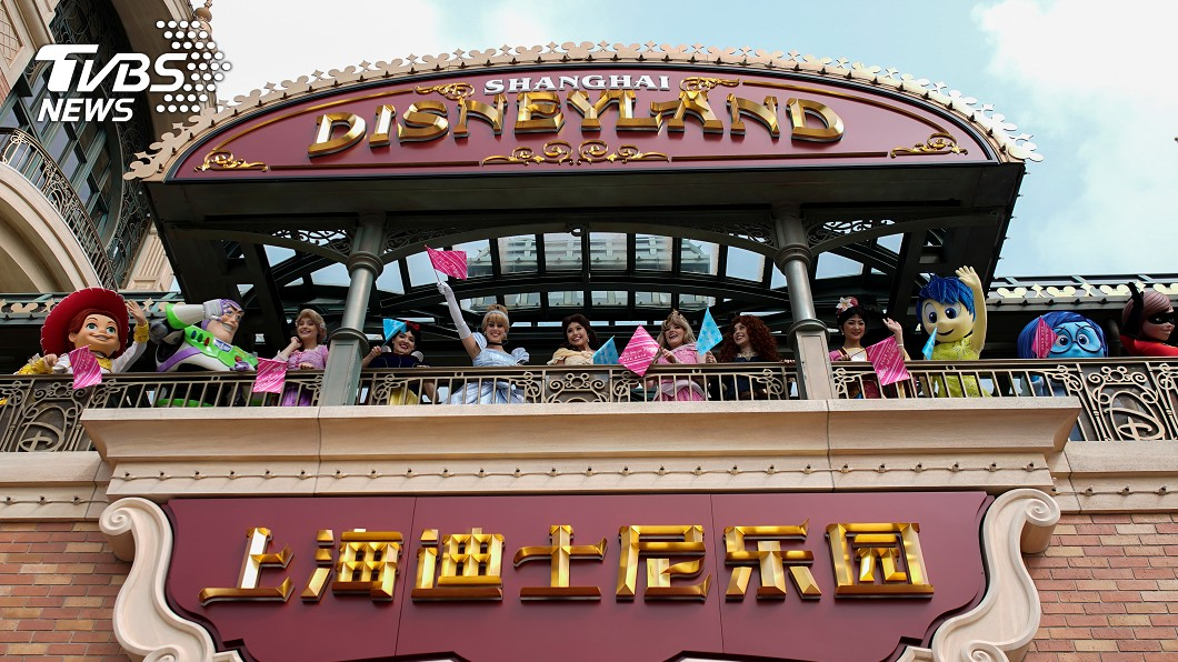 圖/達志影像路透社 上海迪士尼關閉3個月重新開園 門票秒殺管控人流