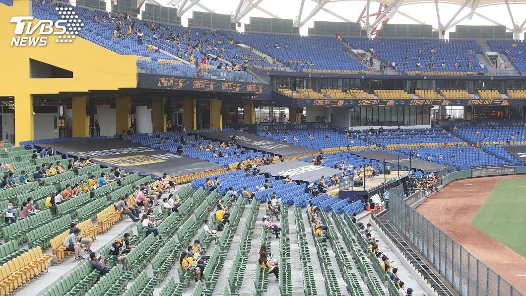 圖/中央社 中職上繳新計畫 爭取開放飲食、觀眾上限2千人
